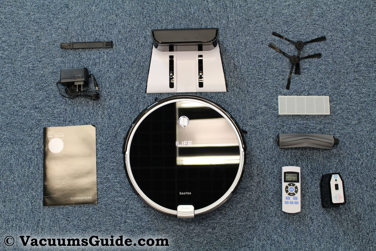 Ilife A6 package contents
