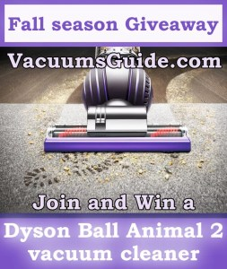 Fall season giveaway from VacuumsGuide.com