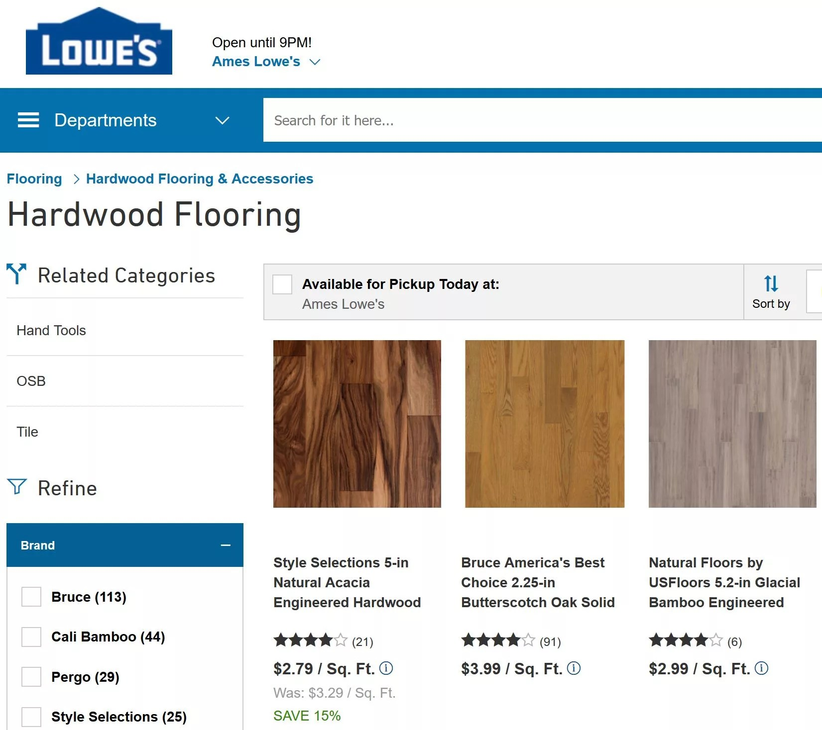 Bulk floor: advantages and disadvantages 97
