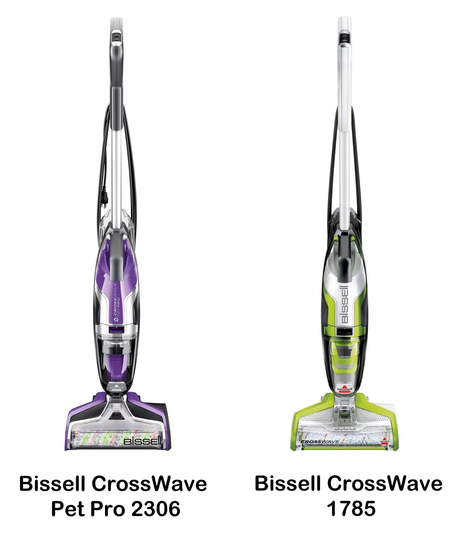 Bissell Crosswave Pet Pro Purple Version Vs Bissell