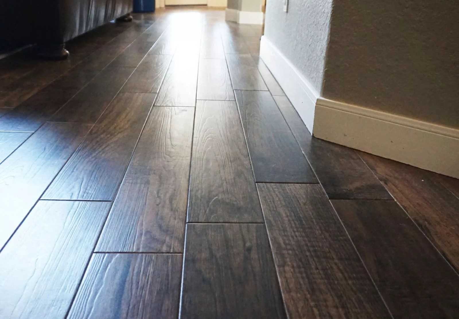Wood-look tile flooring reviews - pros and cons, brands and more