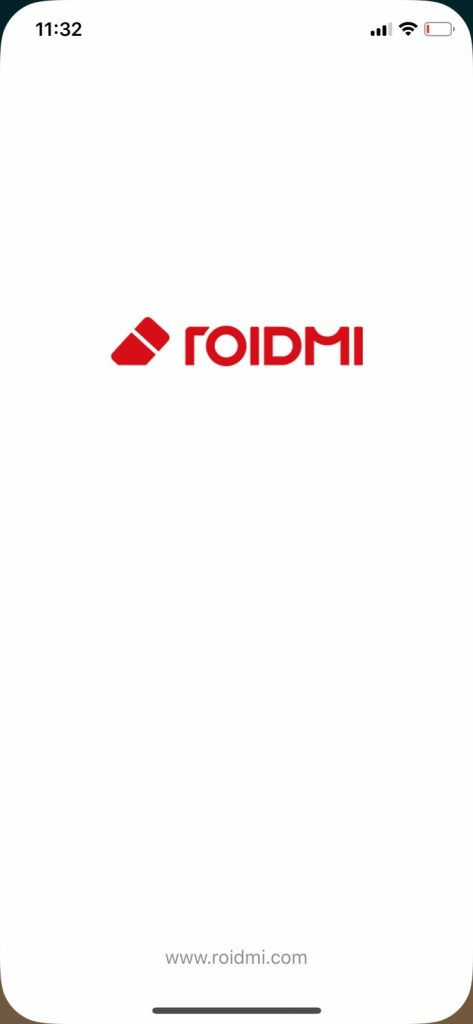 Roidmi App - Loading screen