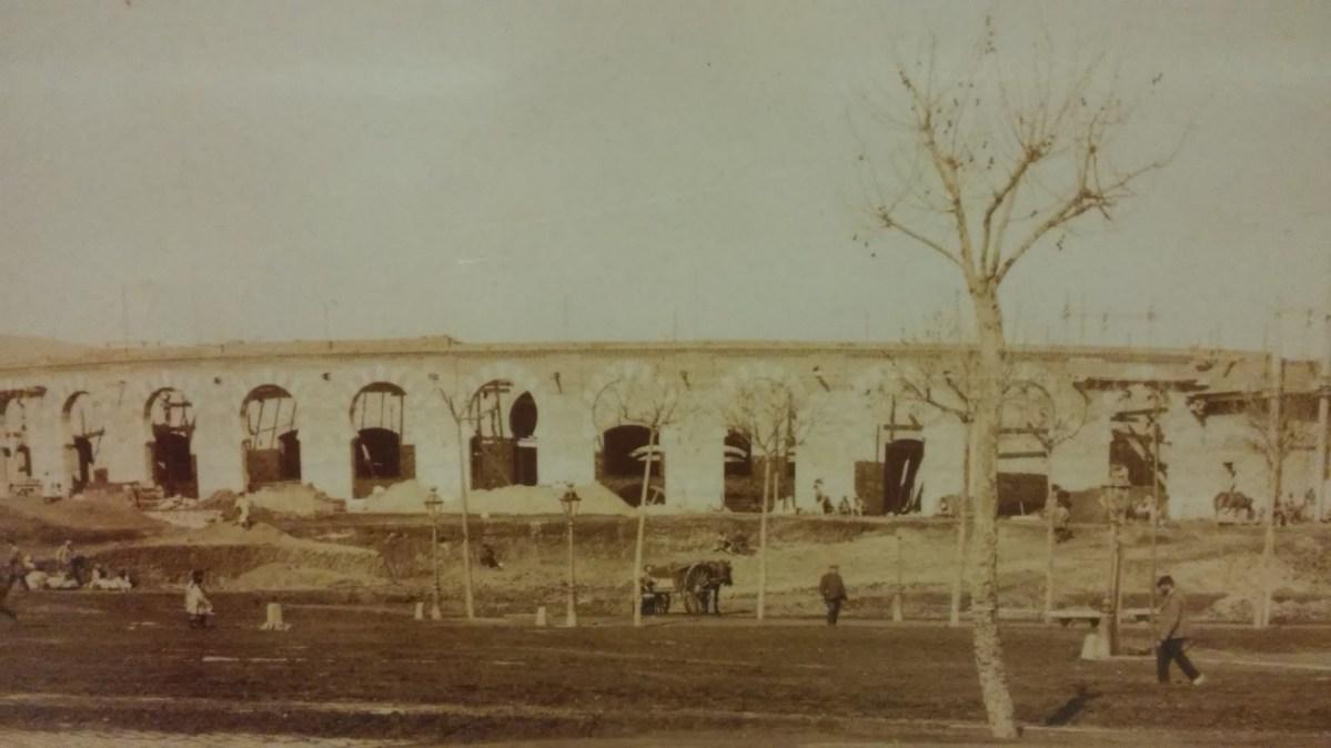 Historia de la plaza de toros de las Arenas  I