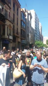 Castellón, 14 de junio de 2015 (Foto Twitter Pacma).