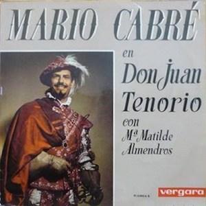 El Don Juan Tenorio de Cabré, en vinilo.