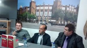Felices, junt a Álvarez i Larroda (a la seva dreta)