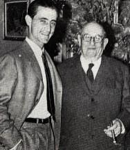 El Viti junto a Pedro Balañá Espinós.