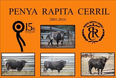 La Penya Ràpita Cerril celebra el seu 15è aniversari.
