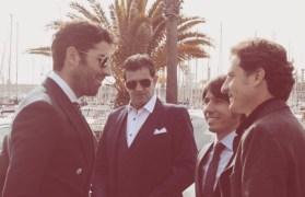 Serafín Marín, Bernard Marsella, César Pérez y Rafael González
