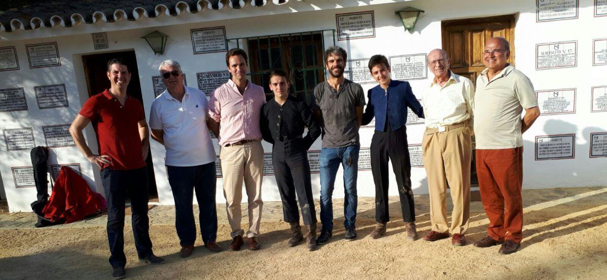 La Fundación José Tomás reitera, un año más, su apoyo a la Escuela Taurina de Catalunya