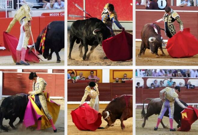Matadores de toros. ¿Cuántos reconoces?