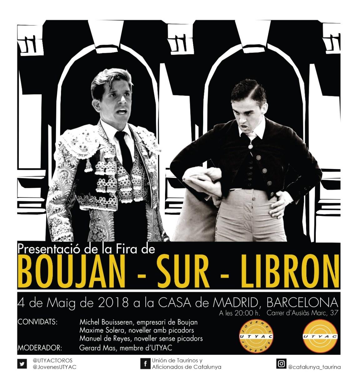 La fira de Boujan es presentarà a Barcelona de la mà de la UTYAC