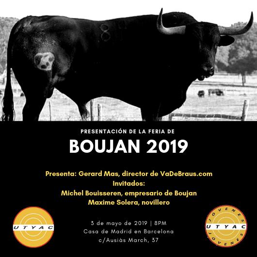 La fira de Boujan es presenta a Barcelona