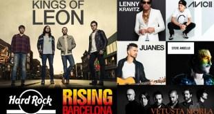Barcelona será sede del concierto de Hard Rock Rising en julio