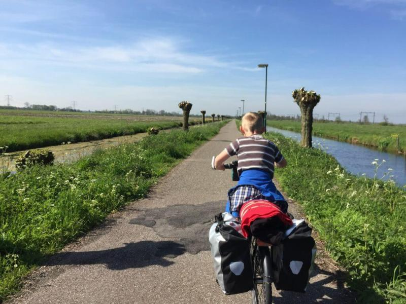 Trekkershut - fietsvakantie - Groene Hart