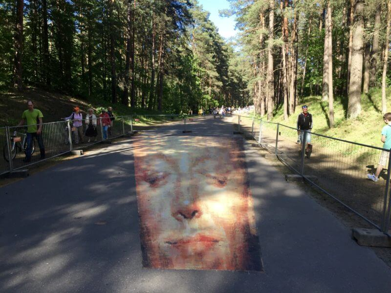 Citytrip Riga: StreetArt in Mezapark Riga