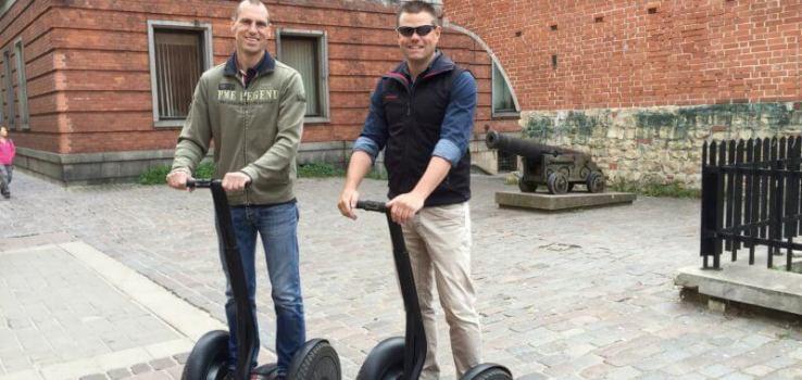 Segway rijden in Riga