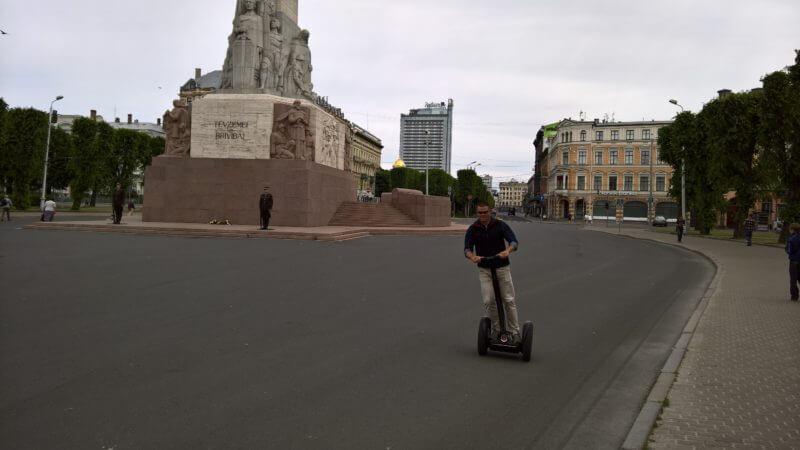 Tips voor Riga: Segway