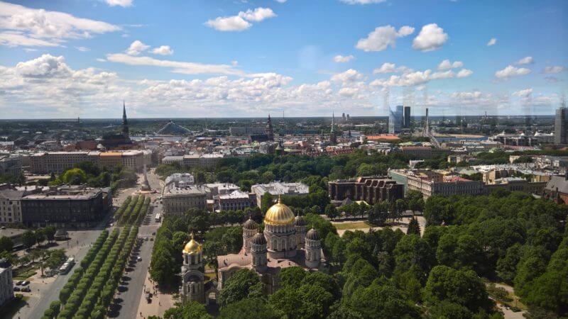 Tips voor Riga: Riga rooftops