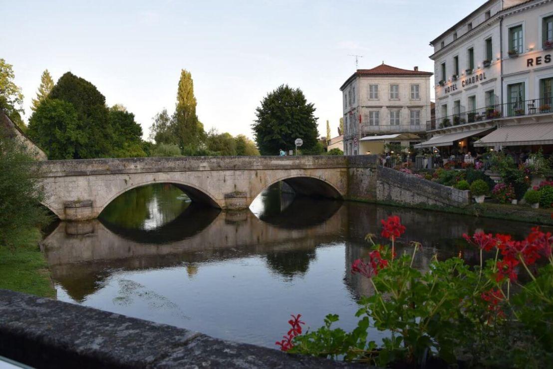 Branthome in de Dordogne