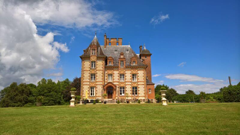 Kasteel Epilly in de Loire