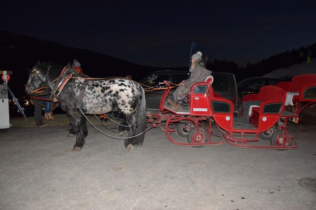 Kerst in Katschberg, met de paardenslee naar de Adventweg