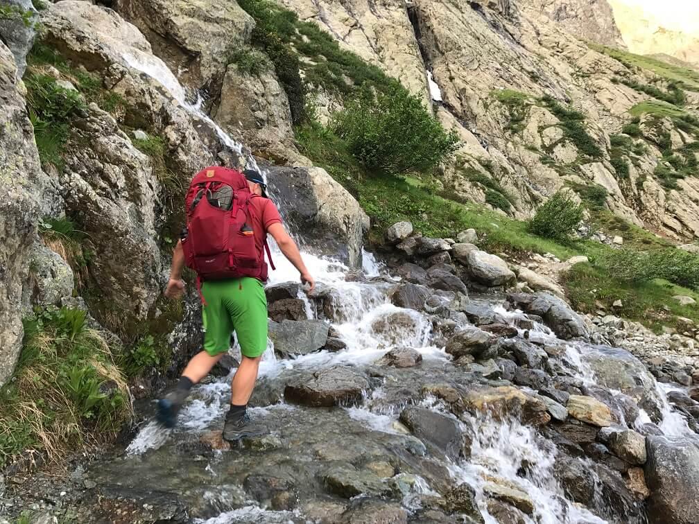 Wandelen door de Franse Bergen