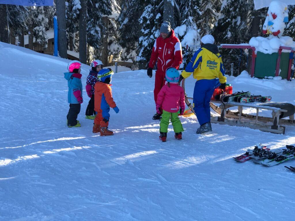 Skiwelt - Wilder Kaiser - kleine Kinderen - Vaders op Reis