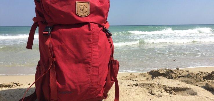 Puglia - Fjallraven - Kaipak - Vaders op Reis - Review