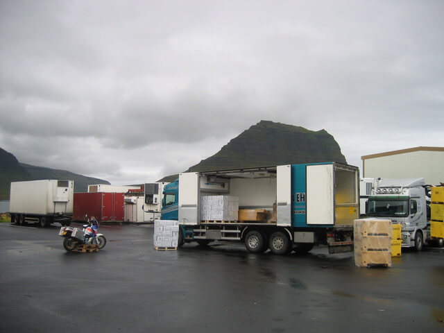Pech met de motor in IJsland