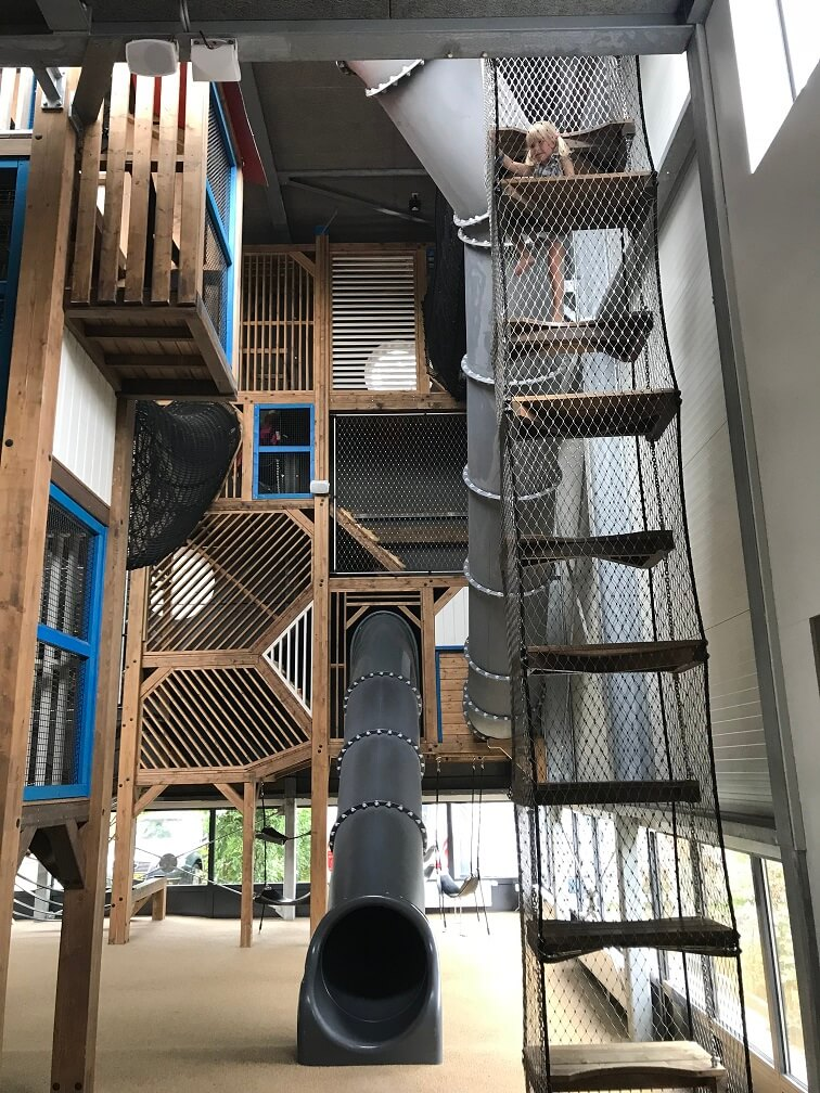 Camping de Kleine Wolf indoor speelparadijs