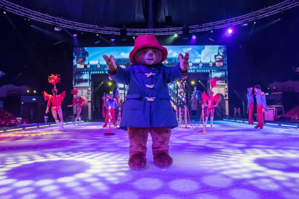 Paddington on ice in Europa-Park