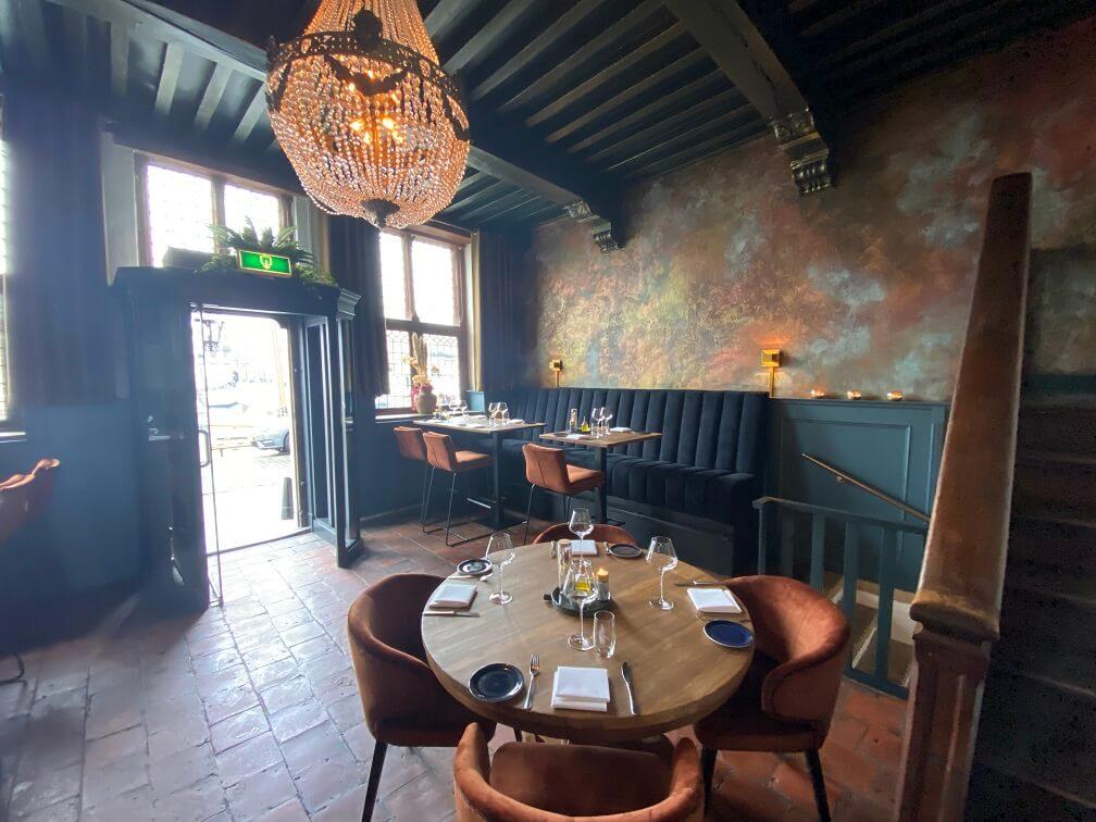 Restaurant KarelV in Goes