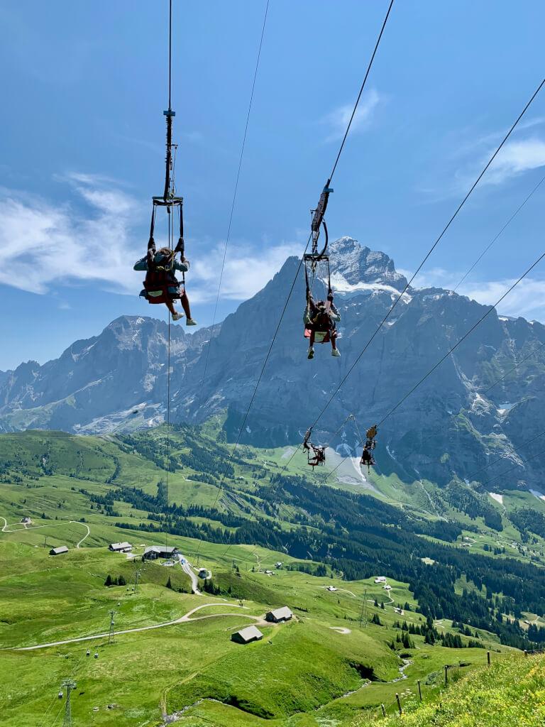 First Flieger - Grindelwald - Adventure package