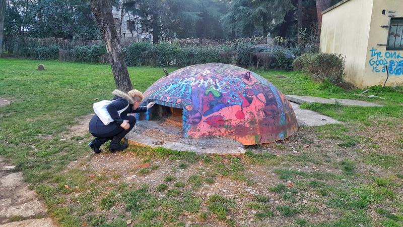 Vacanze in Albania, itinerario bunker in Tirana