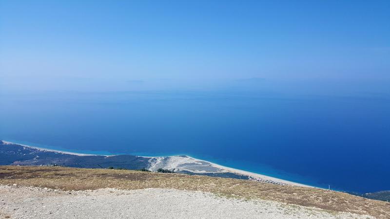 Prima vacanza in Albania, passo del Llogara