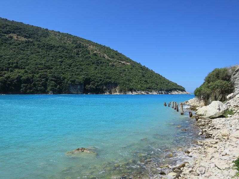 Spiagge in Albania Kakome