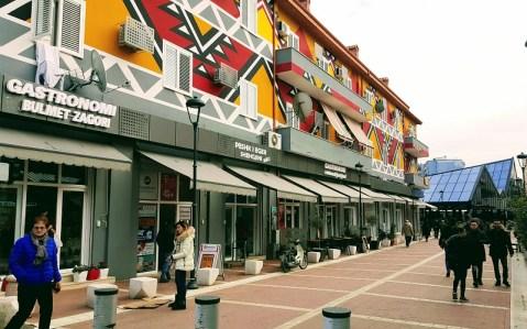week end a Tirana pazari i Ri
