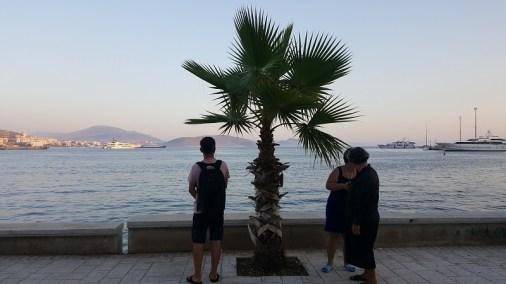 Vacanze a Saranda, il lungomare