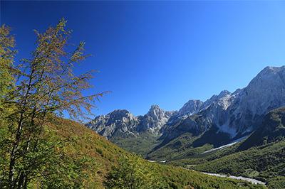 Valbona, valle di Valbona, Tour del Nord Albania