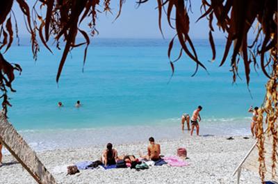 Spiaggia Borsh jeeptour Saranda