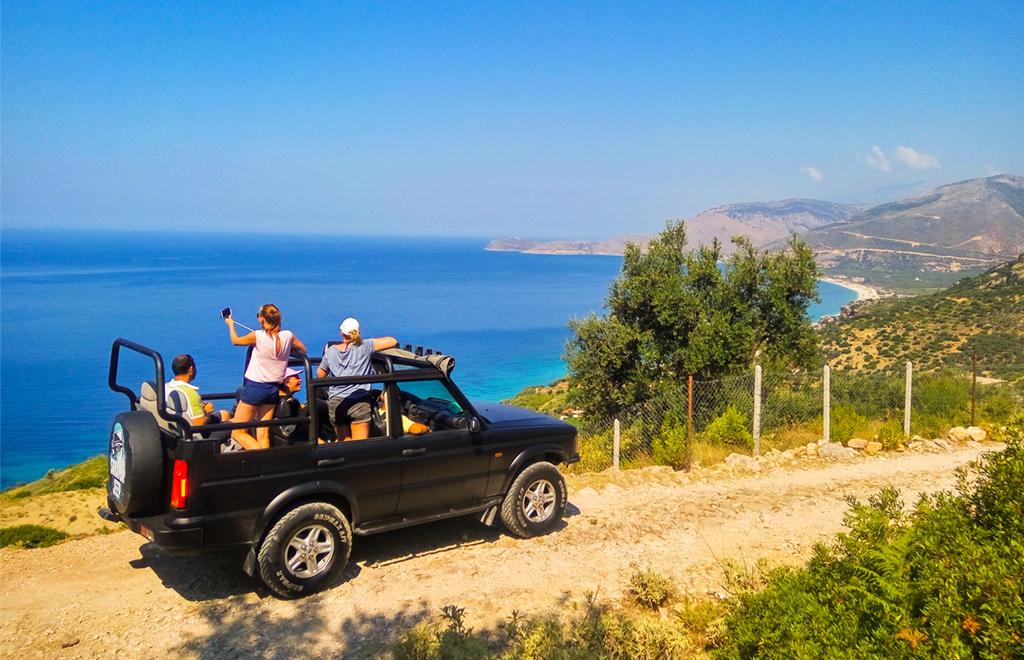 Saranda Jeep minitour albania