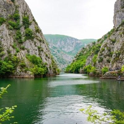 Matka-kanjoni, Makedonia
