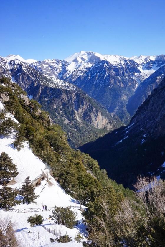 Lunta Kreetalla