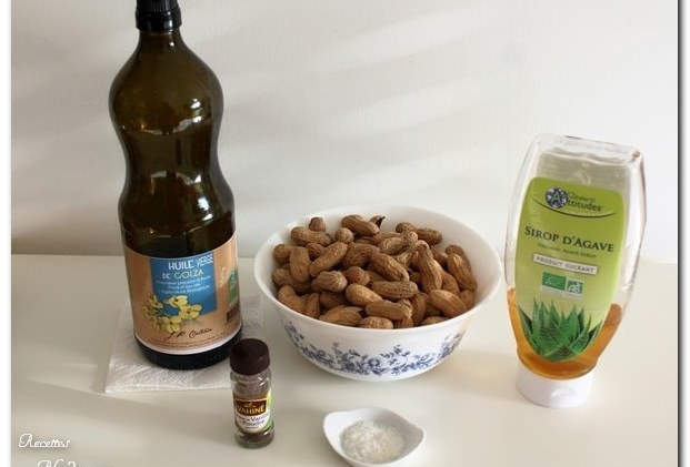 ingredients beurre de cacahuete