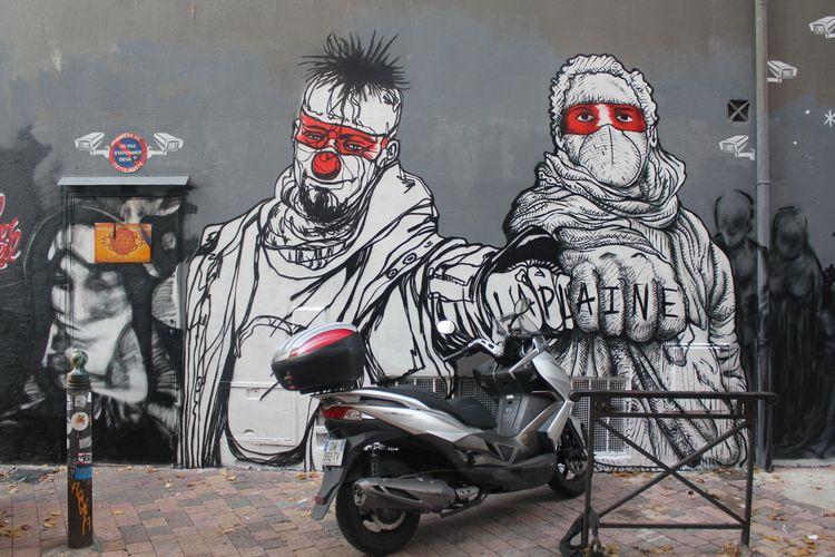 Le Cours Julien street-art