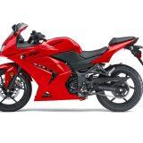 red kawasaki ninja 250