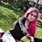 """Interview With Women ADV Riders Magazine! """"Meet Vagabondesss: The Girl in Red"""""""