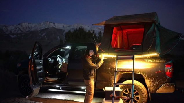 Luminoodle Color String Lights (truck mounted)
