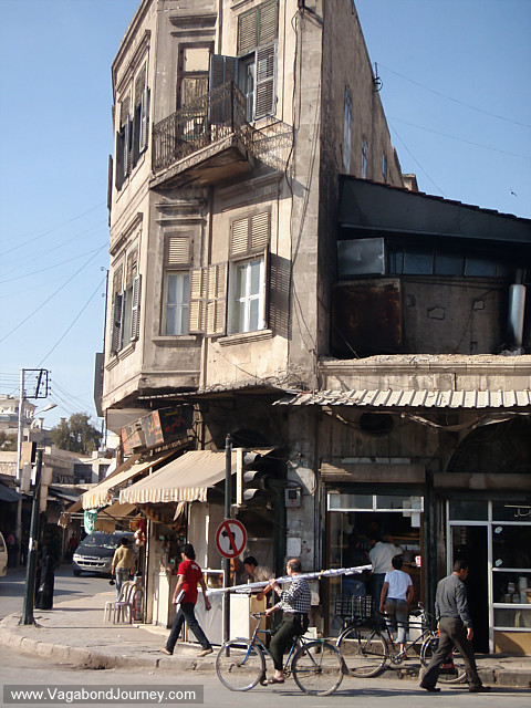 Streets And Souqs Of Aleppo Syria